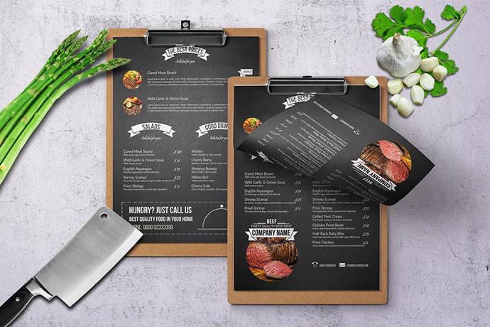 Chef's Restaurant Menu
