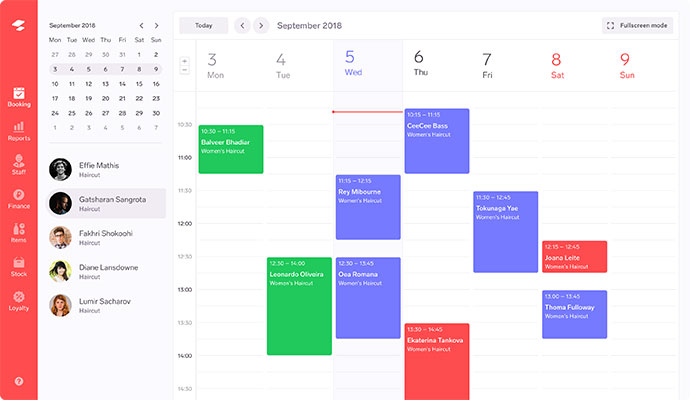 Appointments Calendar