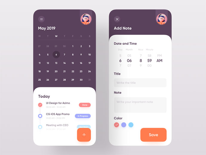 Daily Task Schedule App