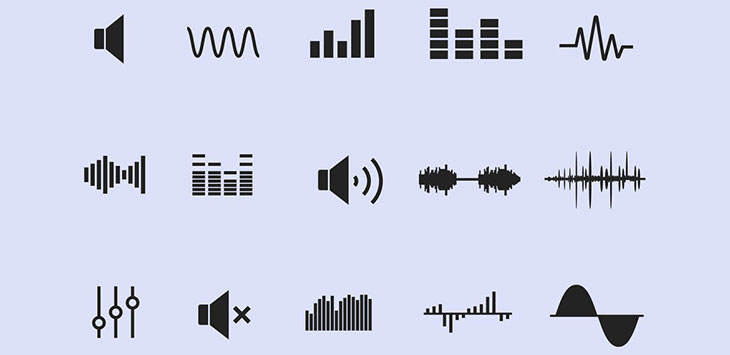 25 High Quality Music & Sound Icon Sets