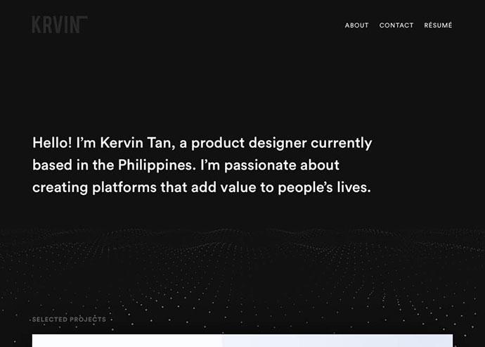 Kervin Tan Portfolio