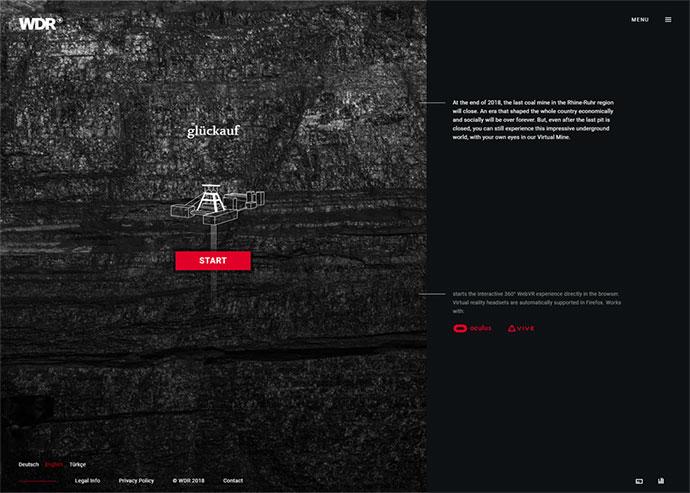 WDR Gluckauf | VR Coal Mine