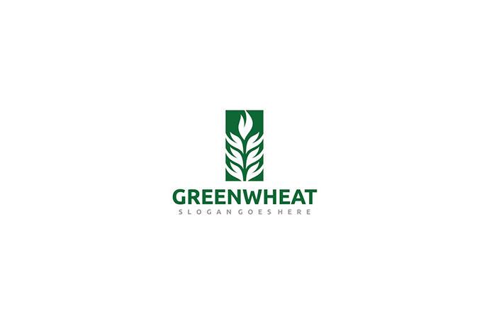 Green Wheat Logo