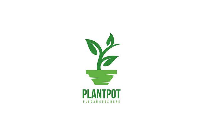 Plant Pot Logo