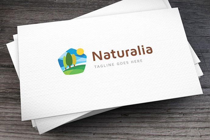 Naturalia Logo Template