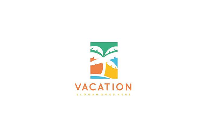 Vacation Palm Logo
