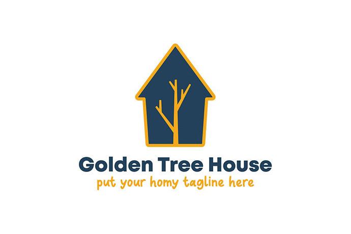 Golden Tree House Logo
