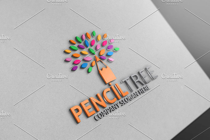 Pencil Tree Logo