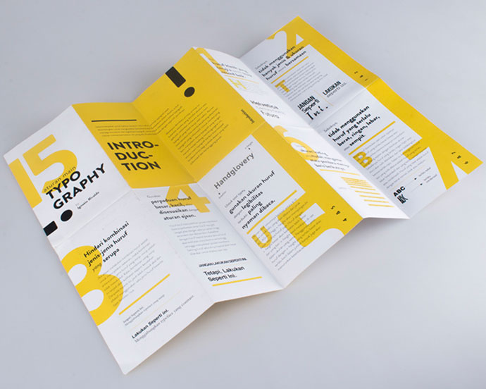 15 Rules Of Typography - Brochure Layout Design