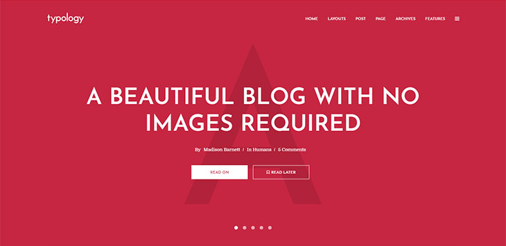 25 Minimal WordPress Theme Designs that Will Stay Forever