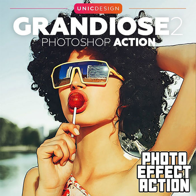 Grandiose 2 Photoshop Action