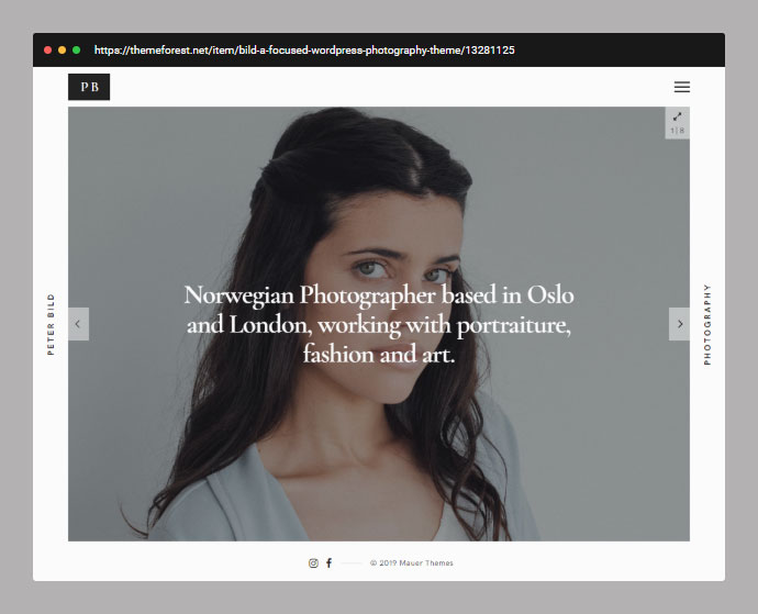 Bild — A Focused WordPress Photography Theme