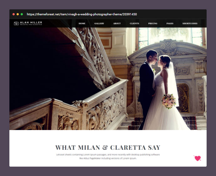 Vivagh Photographer   Wedding Photographer Theme