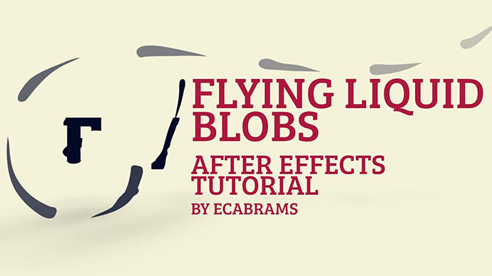 Flying Liquid Blobs