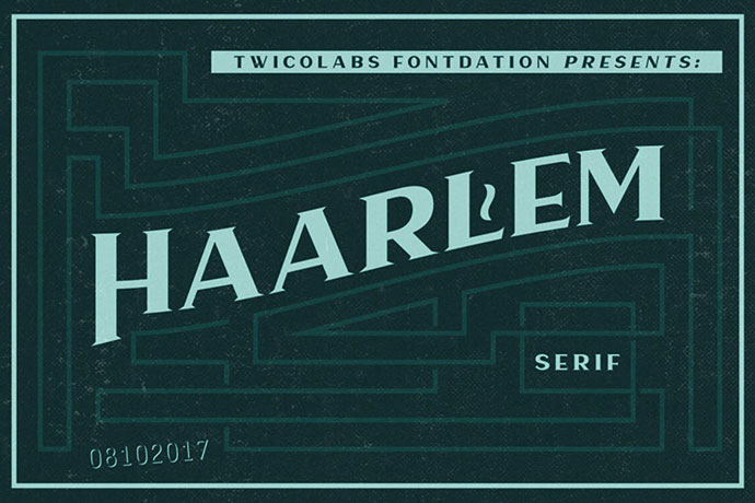 Haarlem Serif