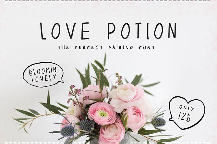 Love Potion Font