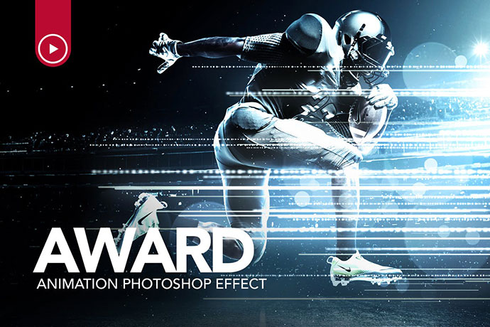 Award Animation Photoshop Action