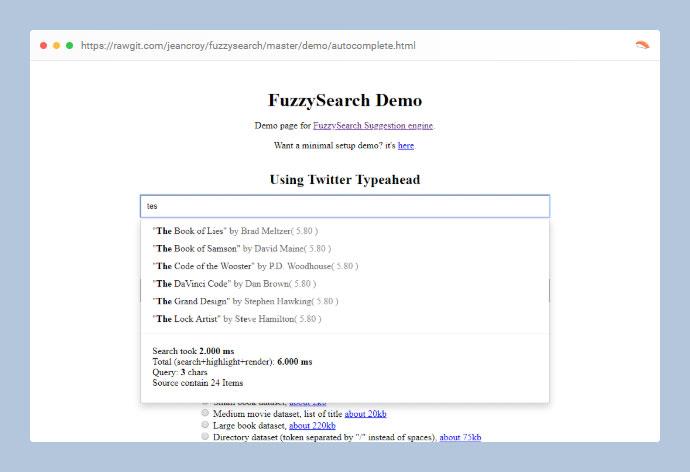 FuzzySearch