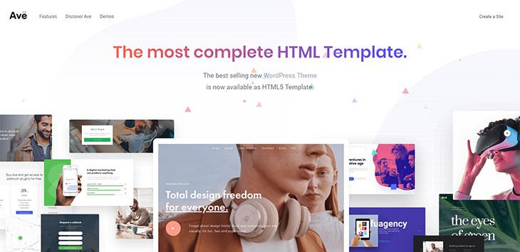 40 Free HTML CSS Portfolio Web Design Templates