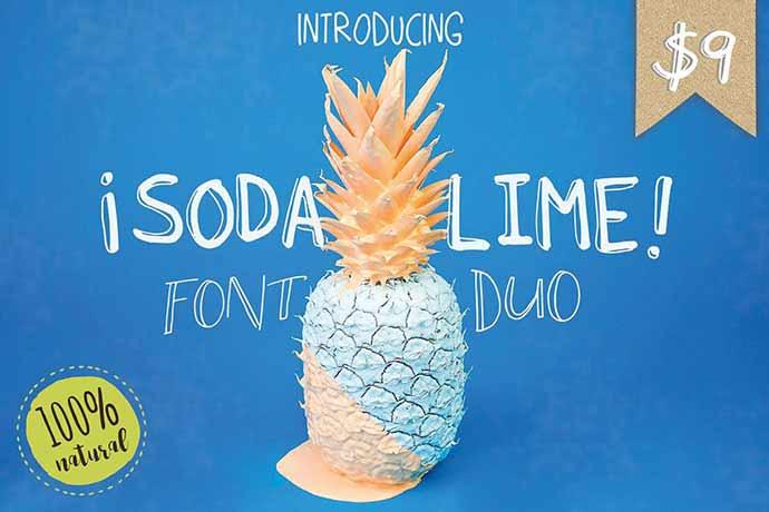Soda Lime Font
