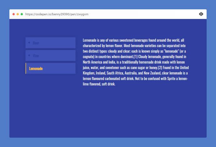 25 Best CSS & Javascript Tab Examples – Bashooka