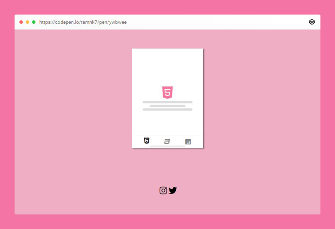 CSS tabs made with smooth scroll property