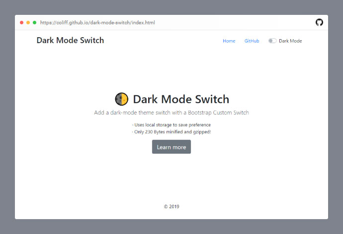 Dark Mode Switch