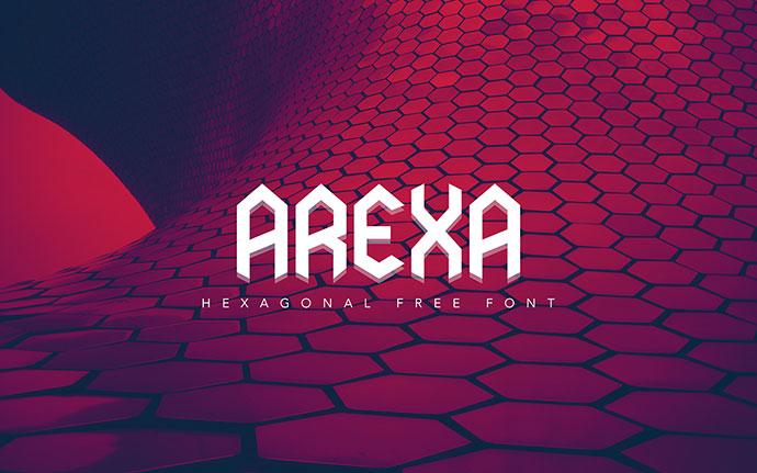 Arexa ( Free Font )
