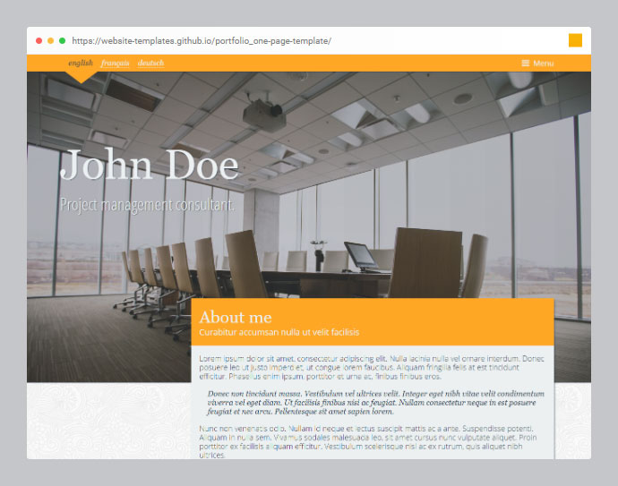 40 Free Html Css Portfolio Web Design Templates 2020 Bashooka