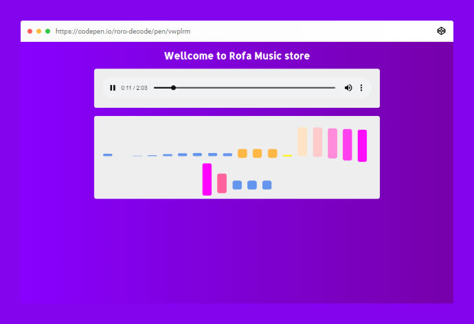 Audio Player Html5 Wellcome To Rofa Music Store
