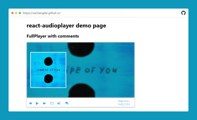 React Audioplayer