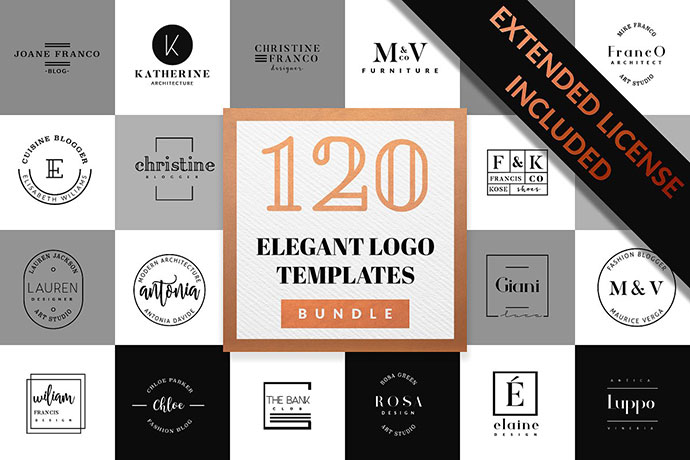 Elegant Logo Pack BUNDLE