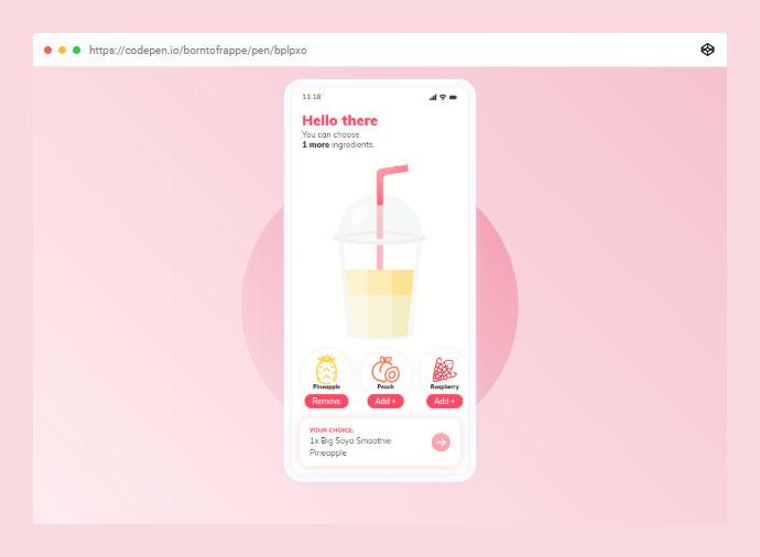 Smoothie App