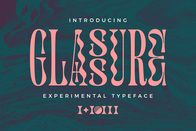 Glassure Typeface version 1.0
