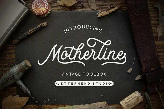 Motherline Vintage Toolbox