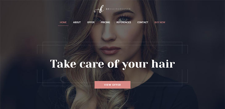 20 WordPress Themes for Hairdresser Website & Portfolio