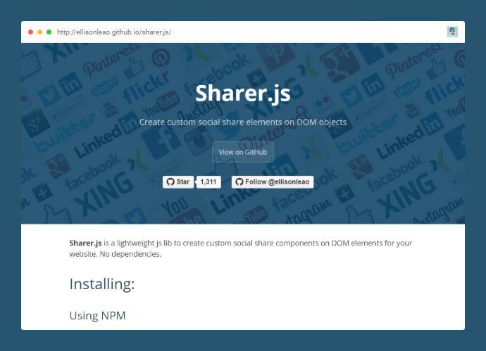 Sharer.js