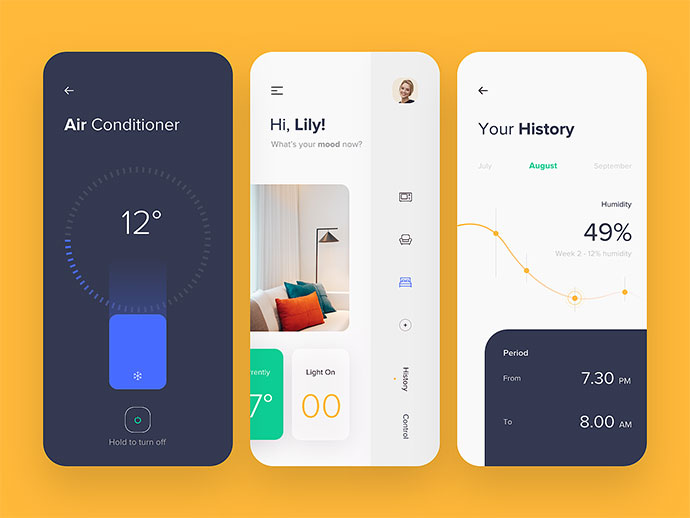 Mobile App - Smart House