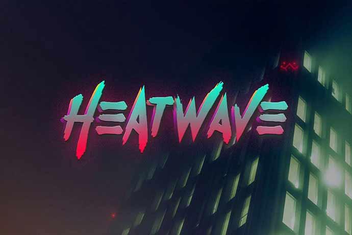 Heatwave Typeface