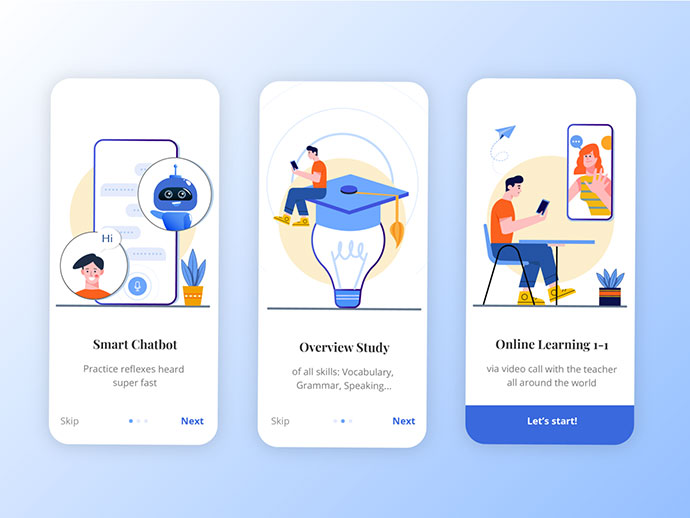 Education Onboarding Ui