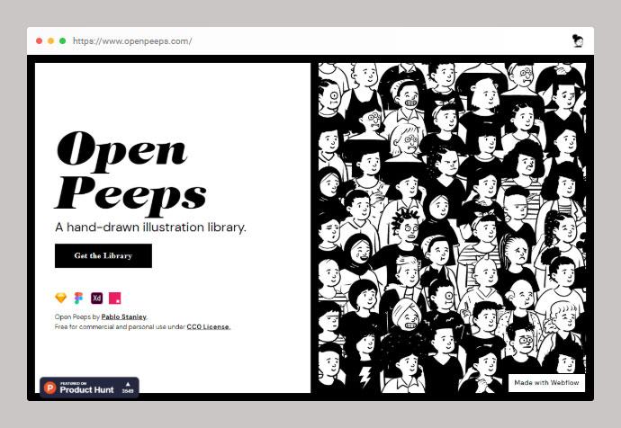 Open Peeps