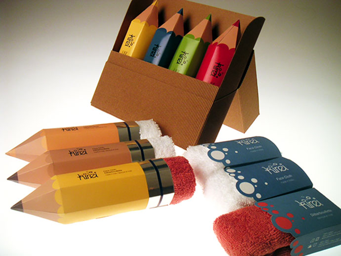Kirei Towel Packaging Design