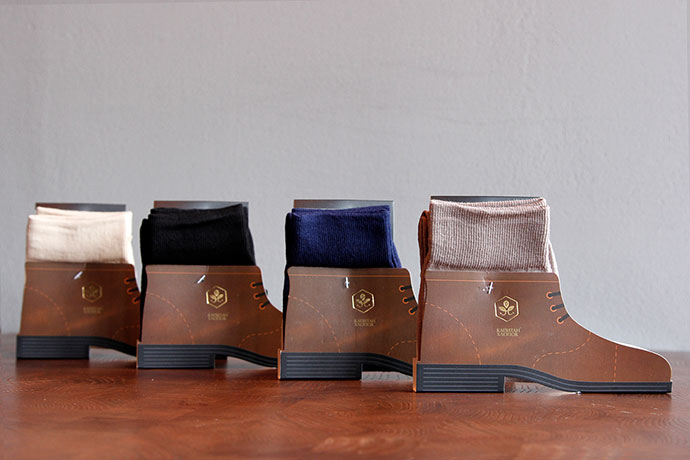 Socks Packaging For Captain Cotton