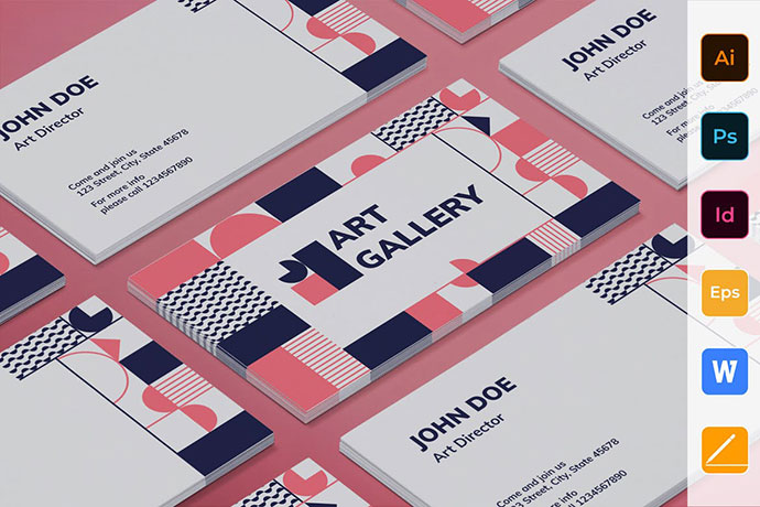 Art Gallery Business Card