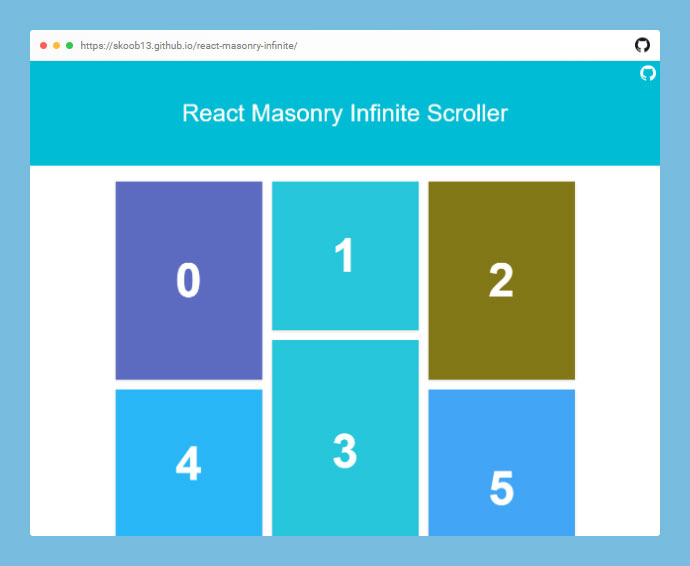 React Masonry Infinite