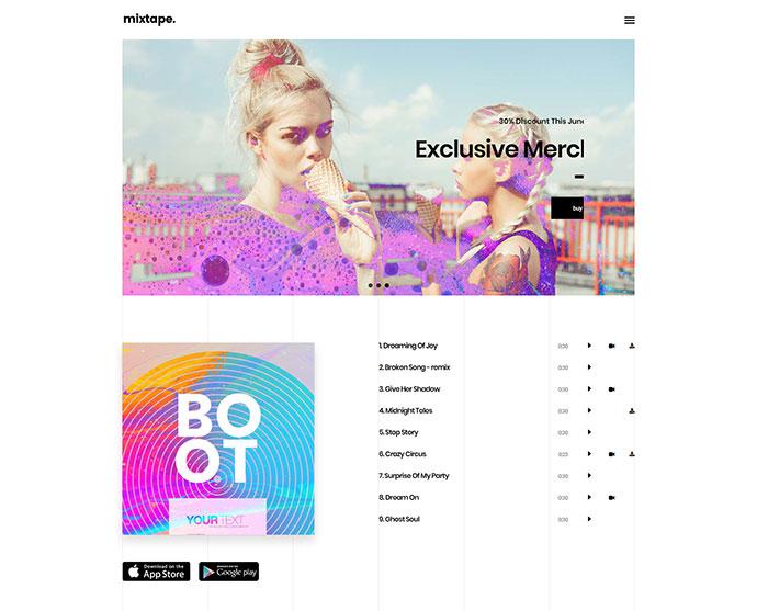 Top 20 Wordpress Themes for Selling Music Online 2019 – Bashooka