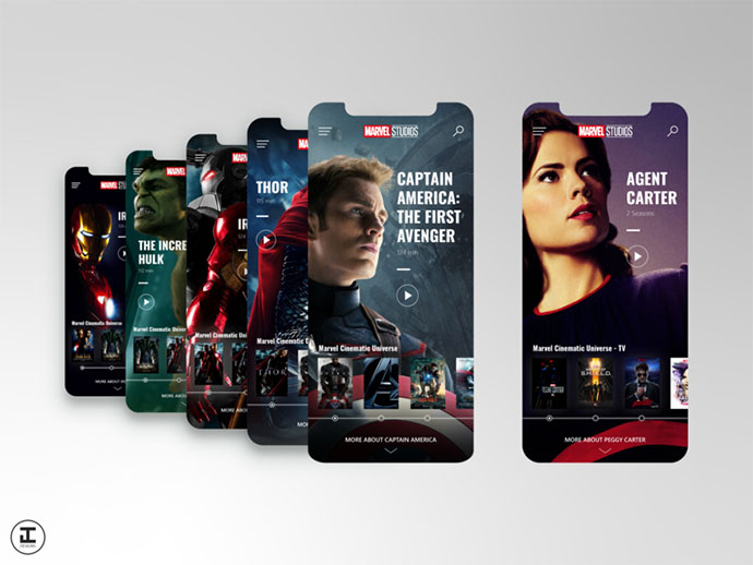 Mcu App Concept: Captain America: The First Avenger