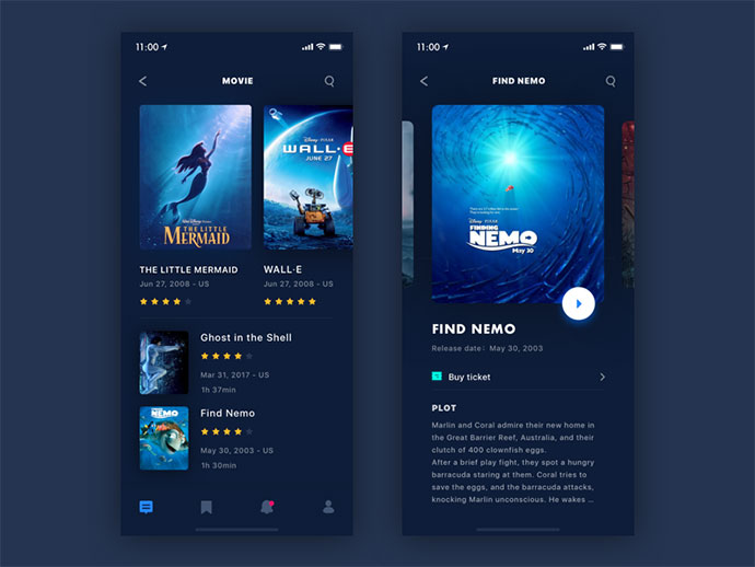 Movie Reviews App - The Movie List