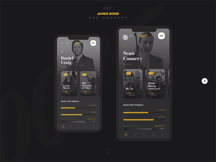 007 App Concept