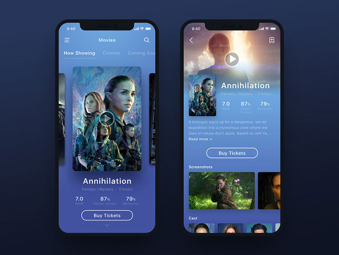 Movie App Ui - Annihilation